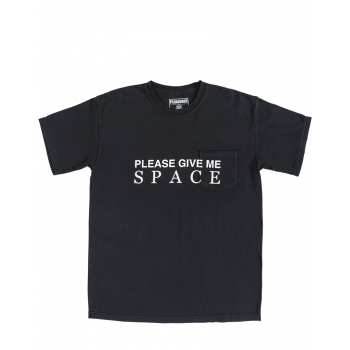 PLEASURES : GIVE ME SPACE POCKET TEE