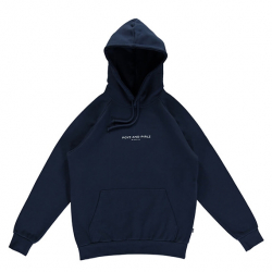 POYZ AND PIRLZ : HOODIE SIGNATURE NAVY