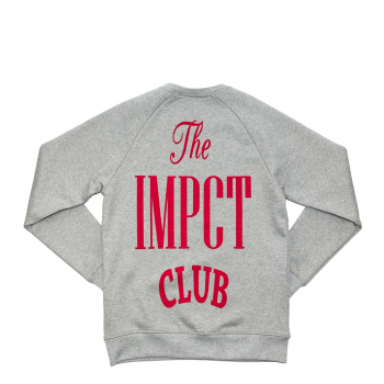 "IMPACT : CLUB CREWNECK ""GREY"""