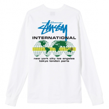 STÜSSY : INTERNATIONAL LS TEE