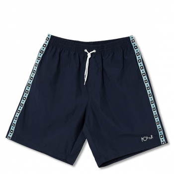 POLAR : SQUARE STRIPE CITY SWIM SHORTS